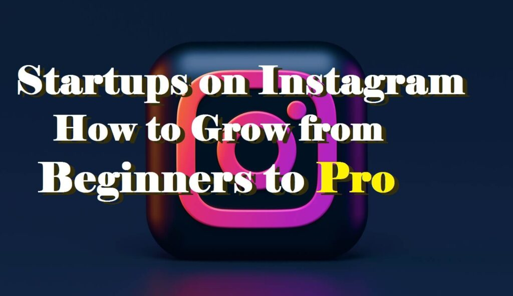 Startups on Instagram How to Grow from Beginners to Pro